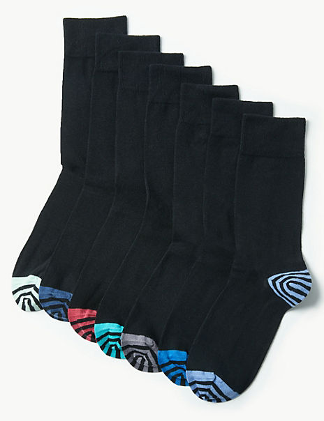 7 Pack Cool & Freshfeet™ Cotton Rich Socks