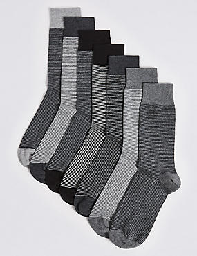 7 Pairs of Cool & Freshfeet™ Assorted Socks