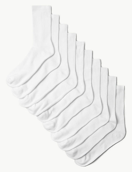 10 Pack Cool & Fresh™ Cushioned Sports Socks