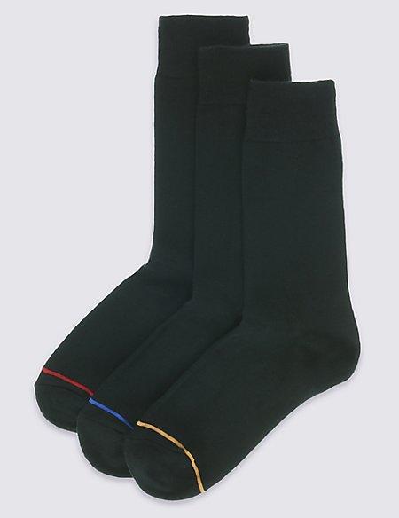 3 Pack Heatgen™ Striped Thermal Socks