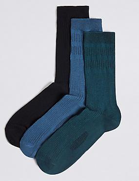 3 Pack Freshfeet™ Gentle Grip Socks