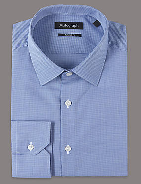 2in Longer Supima® Cotton Tailored Fit Shirt