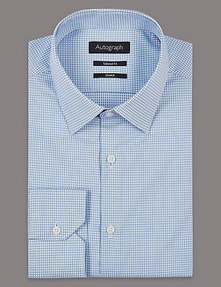 Supima® Cotton Tailored Fit Shirt
