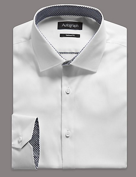 Supima® Cotton Tailored Fit Oxford Shirt
