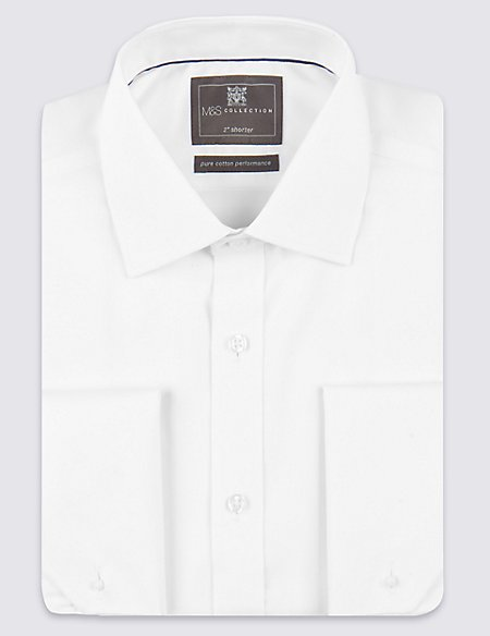 2in Shorter Non-Iron Regular Fit Shirt