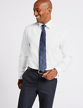 2in Longer Non-Iron Tailored Fit Shirt