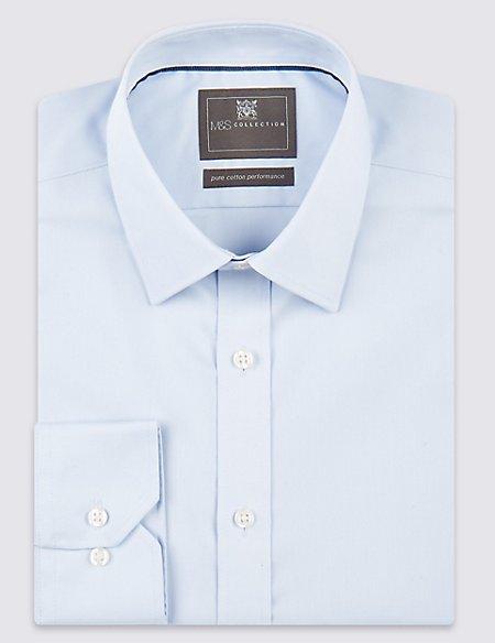2in Shorter Non-Iron Regular Fit Shirt