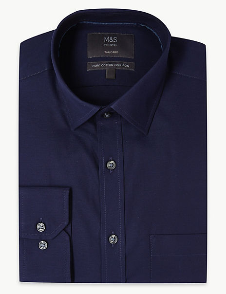 Pure Cotton Non-Iron Oxford Shirt