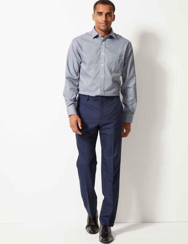 1d0d012a55a0 Pure Cotton Regular Fit Non-Iron Shirt