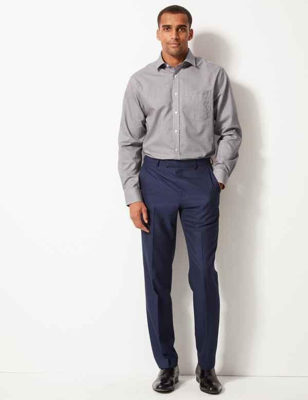 e76601acf Pure Cotton Non-Iron Shirt. Big & tall sizes available