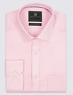 Pure Cotton Non Iron Tailored Fit Shirt
