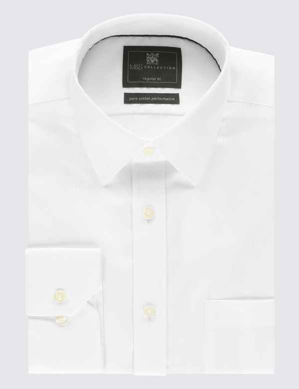 c1706cf5524d57 Mens Non Iron Shirts | Performance Shirts For Men | M&S