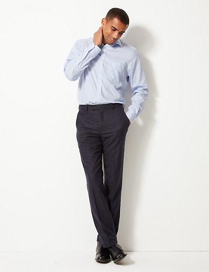 ad037f04a8 ... Camisa con ajuste estándar 100% algodón sin planchado. image