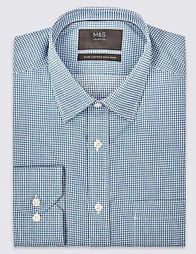 Pure Cotton Non-Iron Twill Regular Fit Shirt
