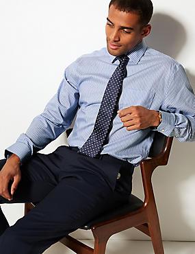 e2765aa5d9 Camisa de sarga 100% algodón sin planchado
