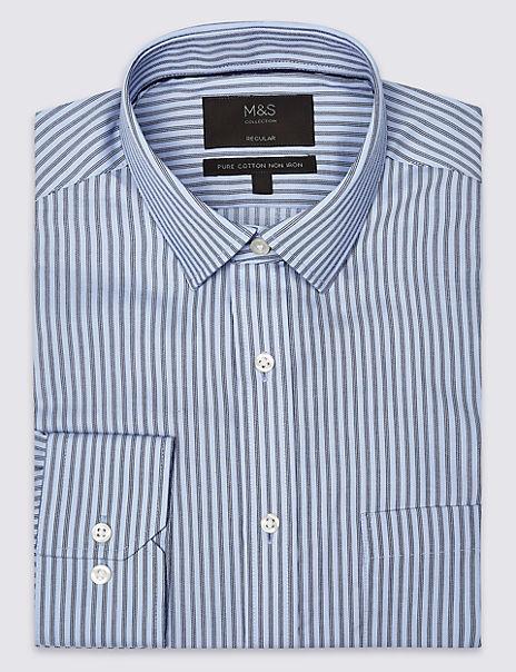 Pure Cotton Non-Iron Twill Shirt