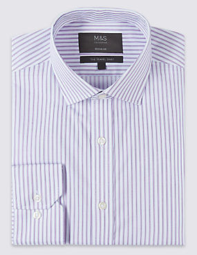 Cotton Blend Non-Iron Regular Fit Shirt
