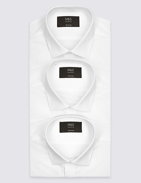 3 Pack Short Sleeve Regular Fit Shirts