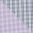 2 Pack Cotton Blend Tailored Fit Shirts, LILAC MIX, swatch