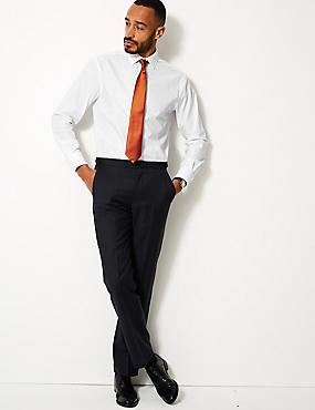 Cotton Blend Regular Fit Shirt , WHITE, catlanding