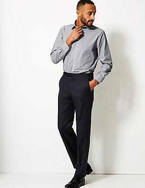 Cotton Blend Regular Fit Shirt