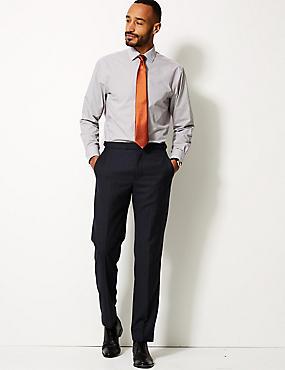 Cotton Blend Regular Fit Shirt, BURGUNDY, catlanding