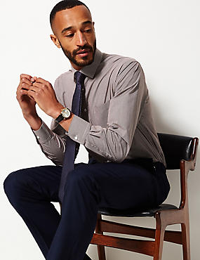 2 Pack Cotton Blend Regular Fit Shirts with Tie, BURGUNDY MIX, catlanding
