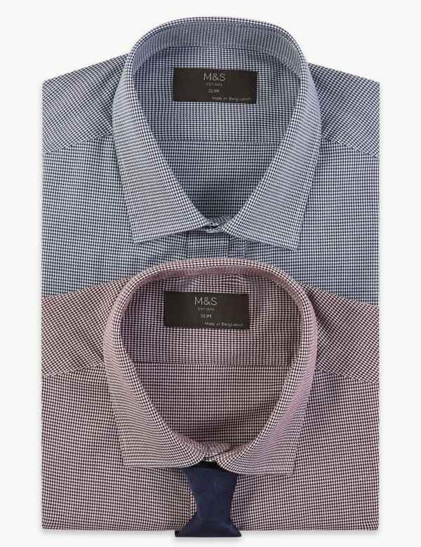 e1d7e3f3d Mens Formal Shirts | M&S