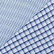 2 Pack Cotton Blend Regular Fit Shirts, BLUE MIX, swatch