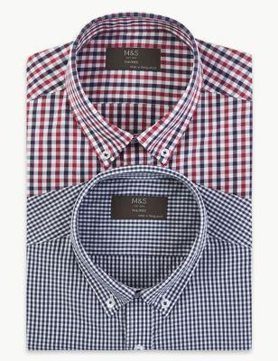 cf58b59aee Mens Formal Shirts | M&S