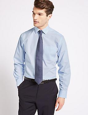 2 Pack Cotton Blend Regular Fit Shirts