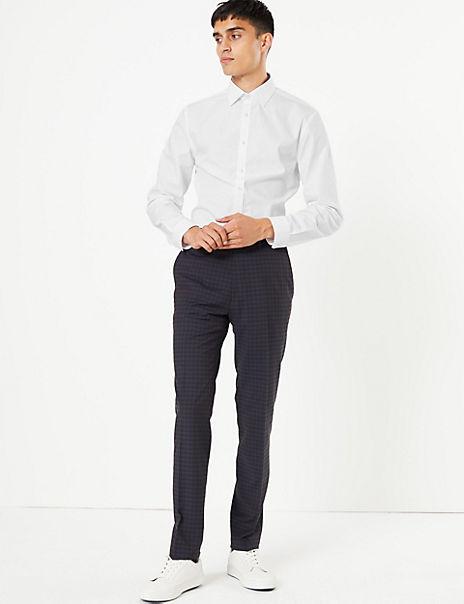 2 Pack Skinny Fit Stretch Shirt