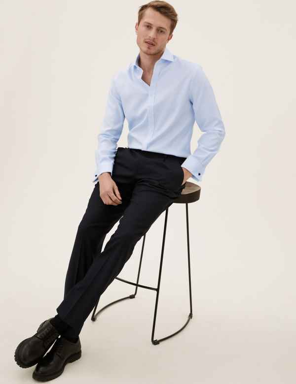 1562dac66 Pure Cotton Tailored Fit Shirt