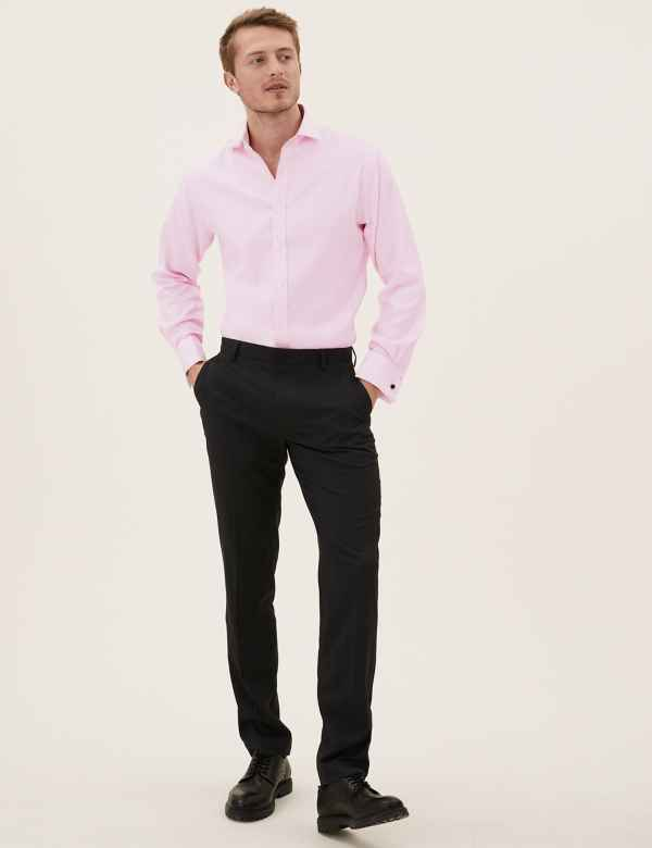 8ad7788914 Pure Cotton Tailored Fit Shirt