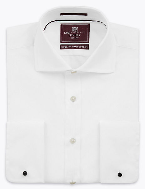 Slim Fit Pure Cotton Shirt