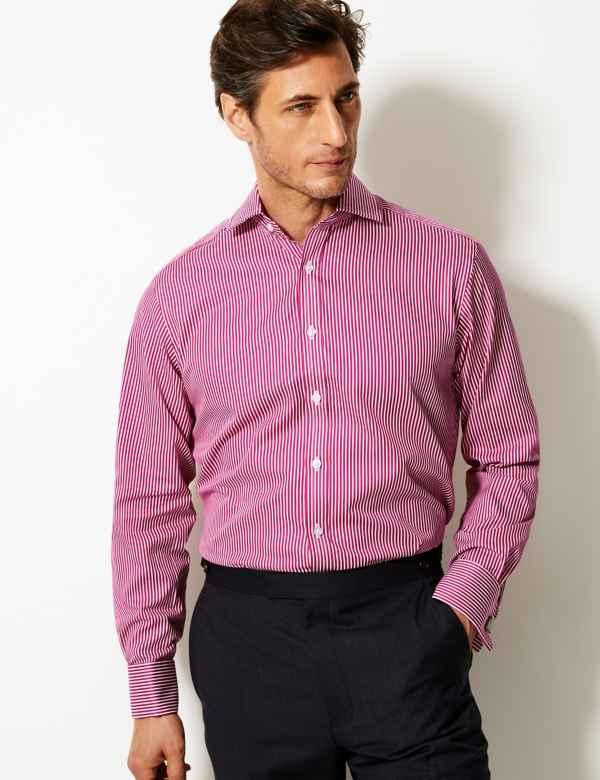 32965cbffb456c Pink | Mens Formal Shirts | M&S