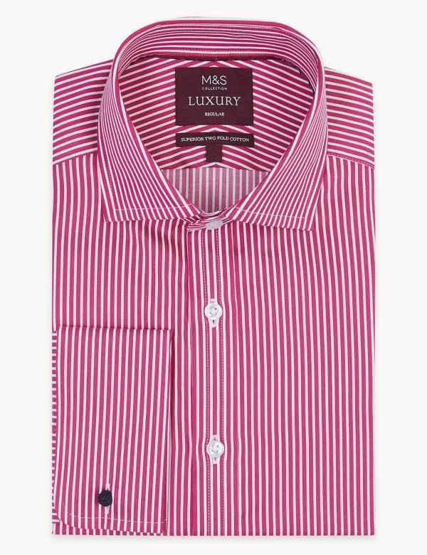 d46331f1bdb Pure Cotton Regular Fit Shirt