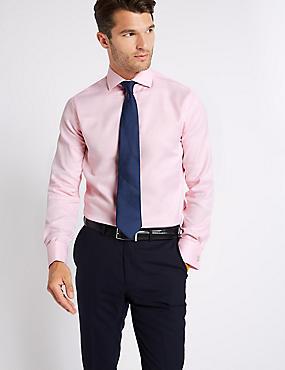 Pure Cotton Slim Fit Shirt