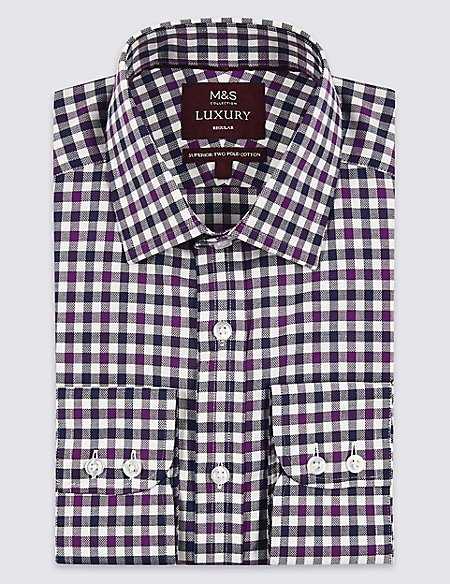 Pure Cotton Regular Fit Shirt