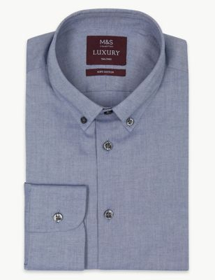 986210eb87c Pure Cotton Tailored Fit Shirt £45.00