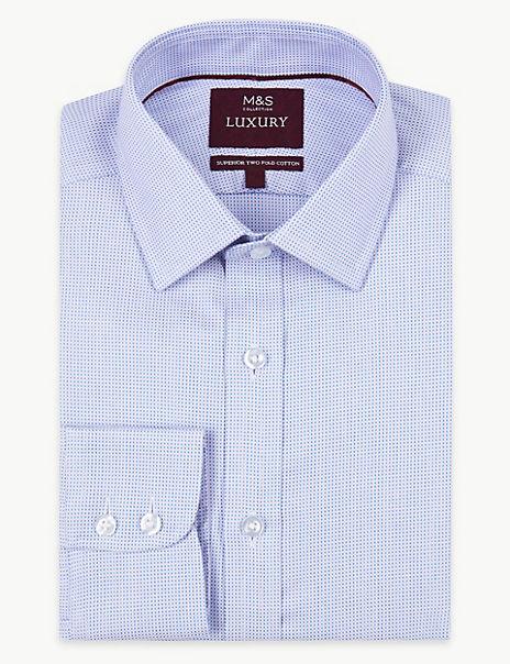 Pure Cotton Regular Fit Shirt
