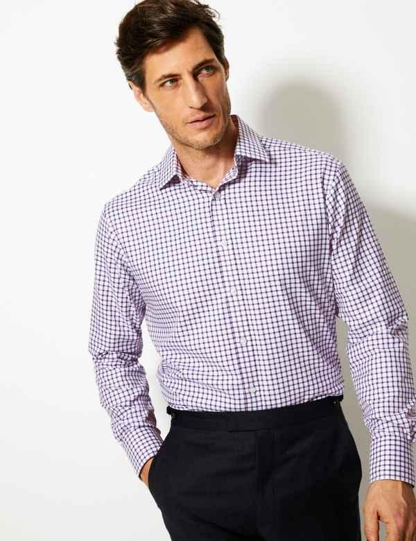 0457487faa0 Pure Cotton Regular Fit Shirt