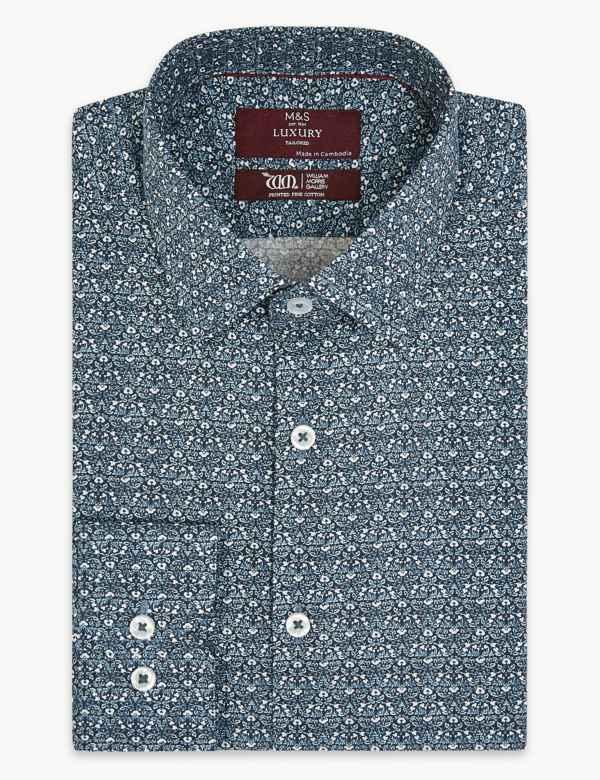 Mens Formal Shirts | M&S