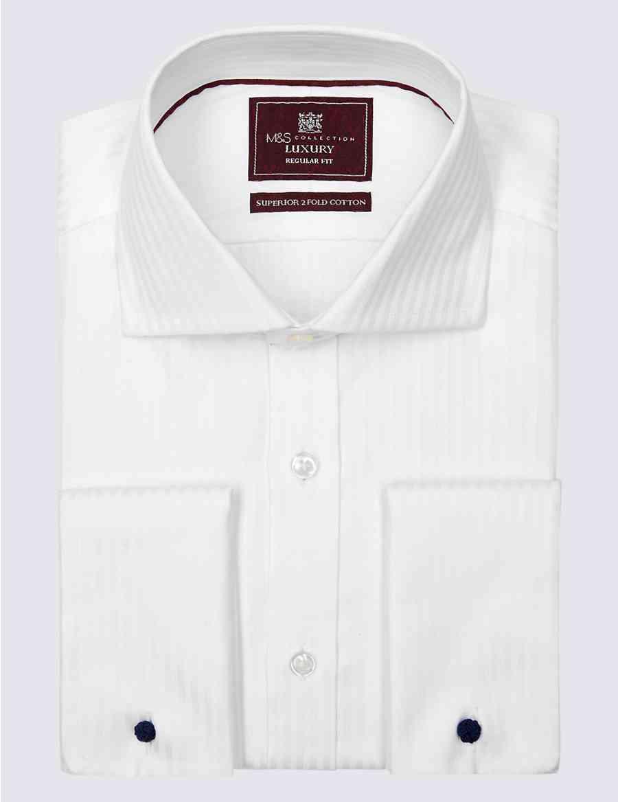 dab0b0b83f3b Pure Cotton Regular Fit Shirt