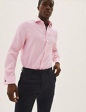 Bügelleichtes Twill-Hemd mit normaler Passform