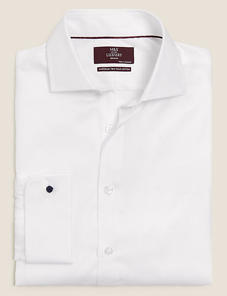 Regular Fit Twill Easy to Iron Shirt