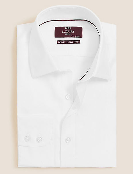 Regular Fit Easy to Iron Shirt