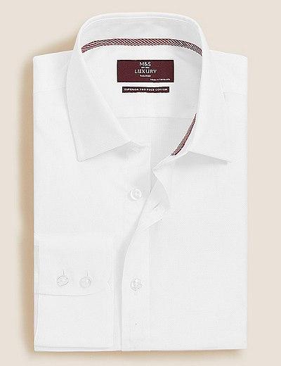 1771280307f Košile mírně zúženého střihu ze 100% bavlny