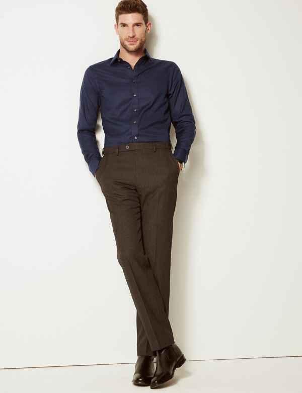 Pure Cotton Twill Slim Fit Shirt 752ecb64caa