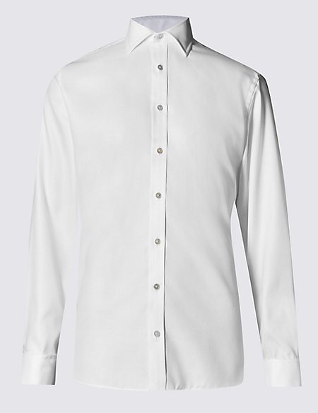 Pure Cotton Easy to Iron Tailored Fit Shirt